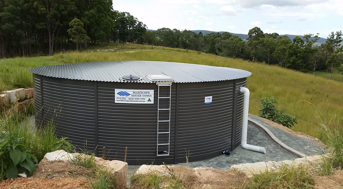 how to connect a water tank to your house