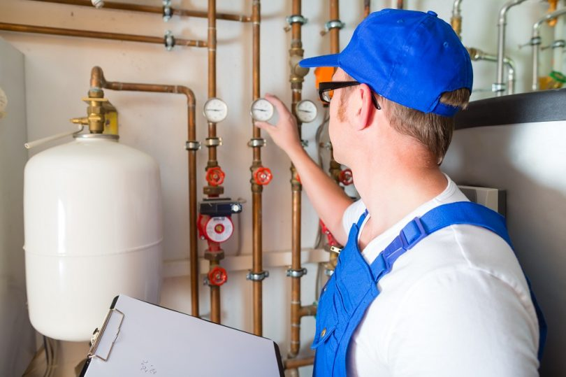 Hot Gas Water Repair Service