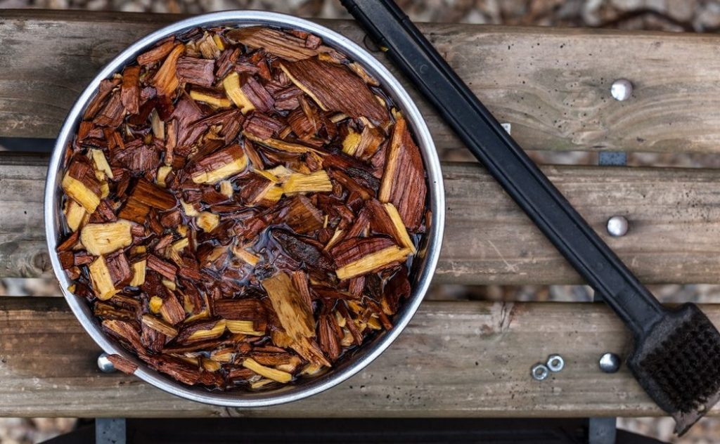 Avoid Soaking your Wood Chips
