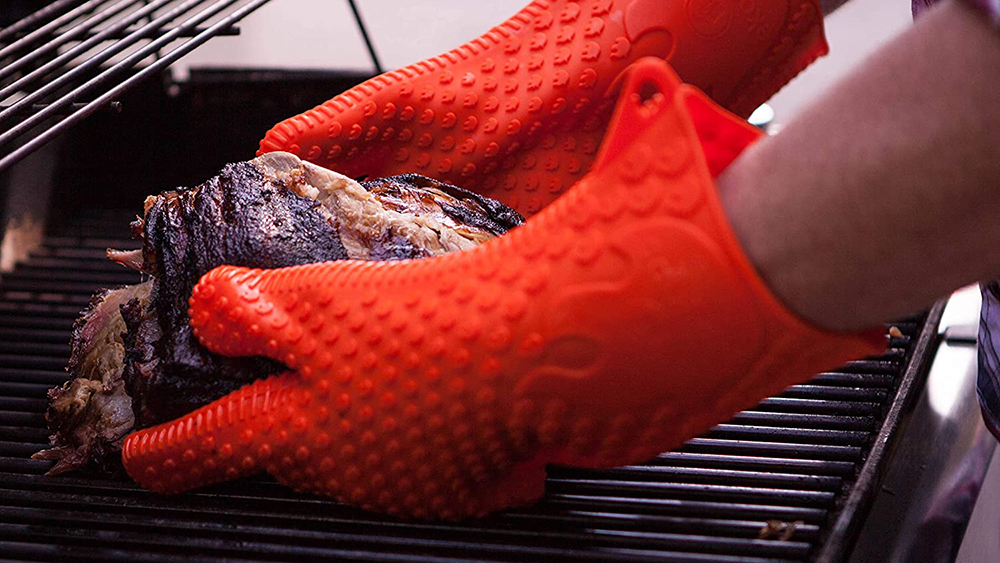 Synthetic Grilling Gloves